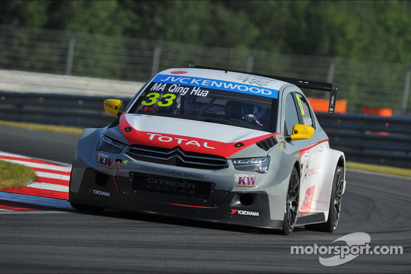Ma Qing Hua in Moscow is the first Chinese driver to win a WTCC race