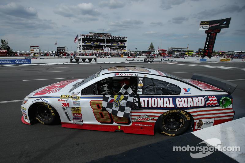 Was Sunday's Pocono race a harbinger of the NASCAR Chase?