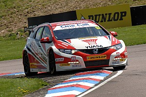 BTCC Qualifying report BTCC driver Shedden maintains title charge