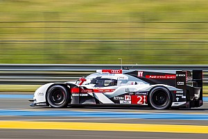 Le Mans Breaking news Audi receives enthusiastic welcome at Le Mans