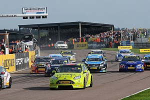 BTCC Breaking news British Touring Car Championship begins mandatory 'zero-tolerance'  alcohol testing
