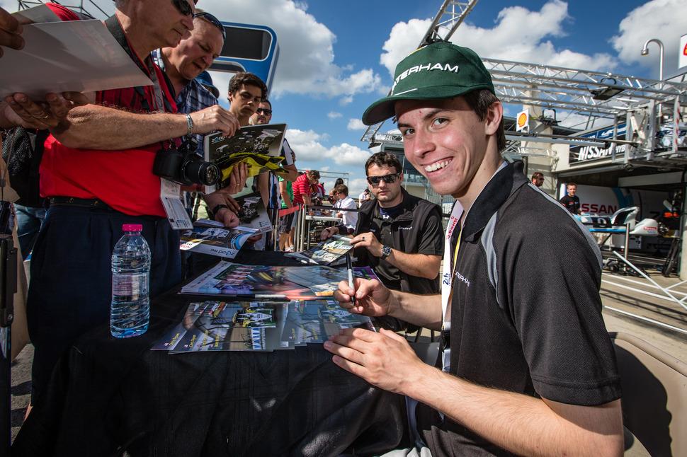 Historic 24 Hours of Le Mans finish for Dyson Racing Junior Development Driver Matt McMurry