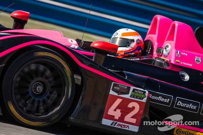 Oak Racing's Alex Brundle takes pole for Sahlen's Six Hours at the Glen