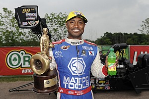 NHRA Race report Brown earns 500th career NHRA round win in victory