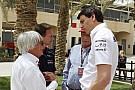 Wolff reveals Ecclestone 'row' over social networks