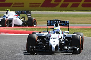 Formula 1 Practice report A eventful Friday practice for Williams at Silverstone
