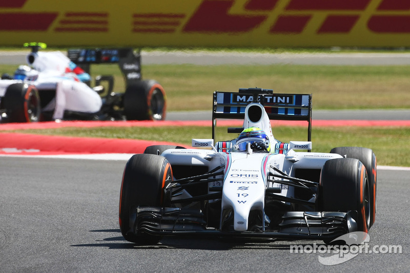 A eventful Friday practice for Williams at Silverstone