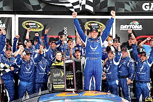 NASCAR Cup Race report Almirola wins soggy, rain-shortened Coke Zero 400 at Daytona