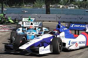 IndyCar Preview Pagenaud and Aleshin bring road course aggression to Iowa bullring