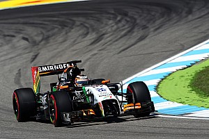 Formula 1 Practice report Sahara Force India began its preparations for the German GP in scorching weather