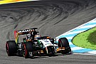 Sahara Force India began its preparations for the German GP in scorching weather