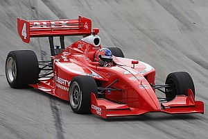 Indy Lights Race report Baron shows pace and maturity in Toronto to claim his first Indy Lights win