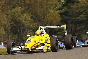 Pro Mazda Race report Costa and Team Pelfrey score breakthrough Pro Mazda win