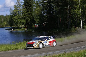 WRC Race report One thousand lakes and a podium for Kris Meeke on Rally Finland