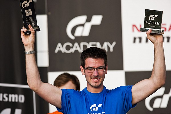 Gaetan Paletou from France becomes European GT Academy 2014 champion