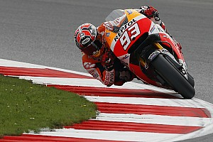 MotoGP Qualifying report Marquez dominates Silverstone qualifying ahead of Dovizioso and Lorenzo