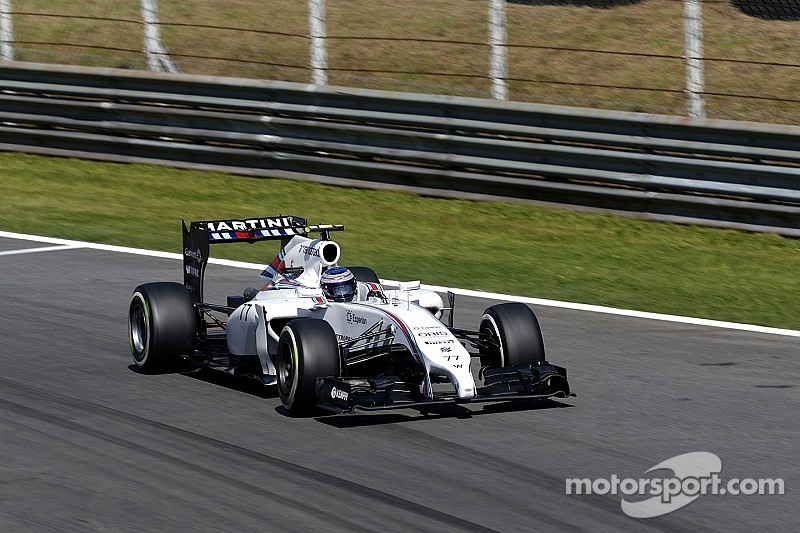 Williams locked out the second row of the grid for the Italian GP