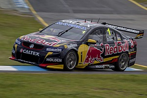 Supercars Practice report Whincup fastest in Sandown practice
