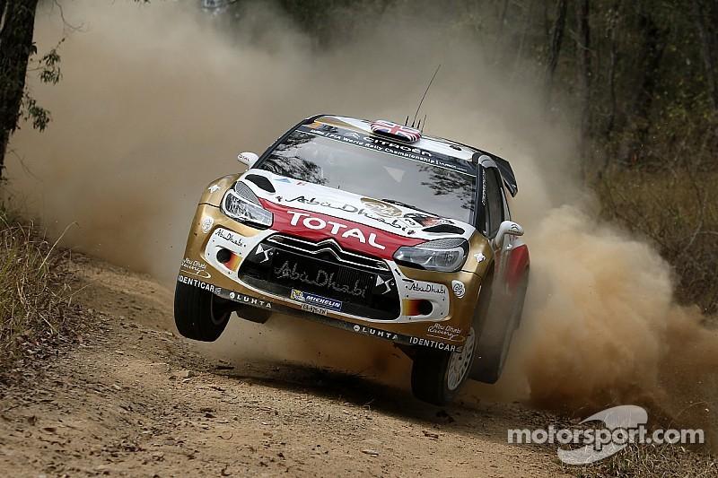 Kris Meeke stays on the pace in Australia