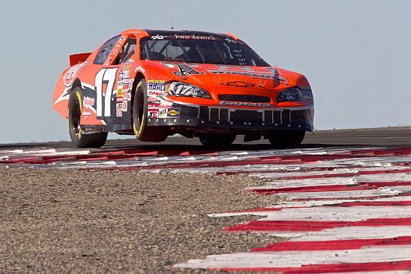 Mayhew takes surprise NASCAR win at Miller Motorsports Park