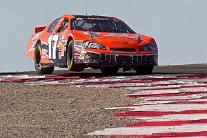 NASCAR Race report Mayhew takes surprise NASCAR win at Miller Motorsports Park