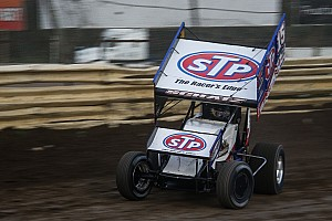 World of Outlaws Race report Donny Schatz scores his 21st win of the season at Kokomo Speedway