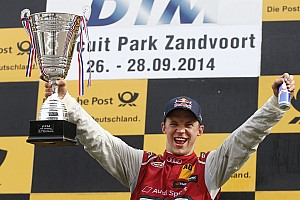DTM Race report Ekström scores first victory of the season for Audi at Zandvoort