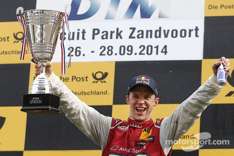 Ekström scores first victory of the season for Audi at Zandvoort