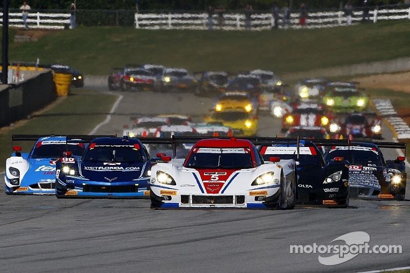 Action Express Racing: Championship when Corvette DP No. 5 took the green flag