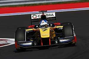 FIA F2 Race report Jolyon Palmer crowned 2014 GP2 Champion