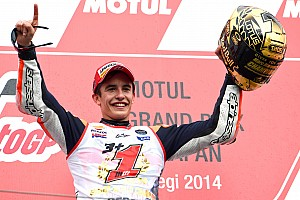MotoGP Breaking news Marc Marquez retains MotoGP crown with podium in Japan