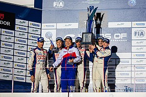 WEC Race report Home hat-trick for Toyota Racing at Fuji