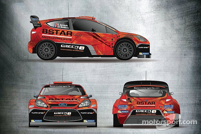 Sarrazin to participate in multiple rallies with 8Star