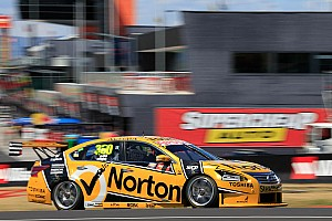 Supercars Commentary Nissan presents Moffat with hilarious gift for second place finish at Bathurst