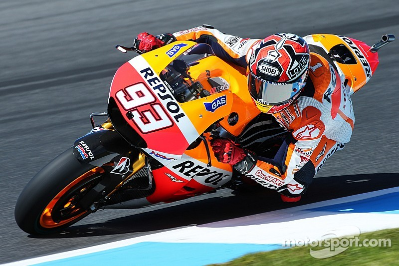 Marquez dominates Philip Island qualifying to seal 12th pole of the year