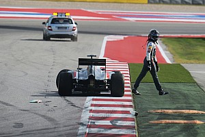 Formula 1 Breaking news Early SC needed at COTA after Sutil and Perez crash