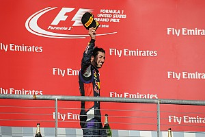 Formula 1 Race report Podium for Ricciardo in USA
