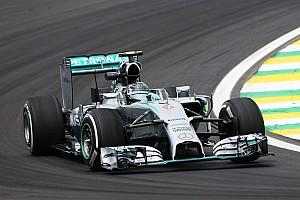 Formula 1 Practice report Brazilian GP practice 1 results: Rosberg leads Hamilton