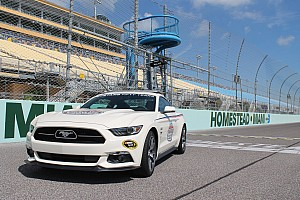 NASCAR Cup Breaking news 50-Year Limited Edition 2015 Ford Mustang to pace at Homestead