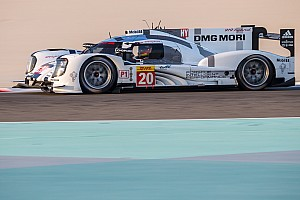 WEC Practice report Strong practice performance for the Porsche 919 Hybrid in Bahrain