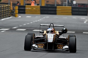 F3 Qualifying report Rosenqvist stuns opposition with Macau pole
