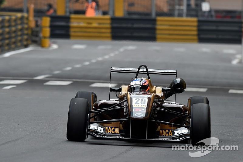 Rosenqvist stuns opposition with Macau pole
