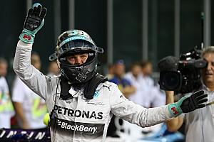 Formula 1 Qualifying report Abu Dhabi GP qualifying results: Rosberg clinches pole
