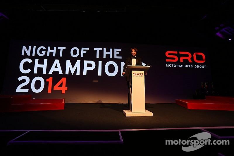 SRO Motorsports Group Award Ceremony celebrates series champions