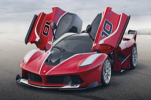 Ferrari Breaking news LaFerrari FXX-K hybrid revealed