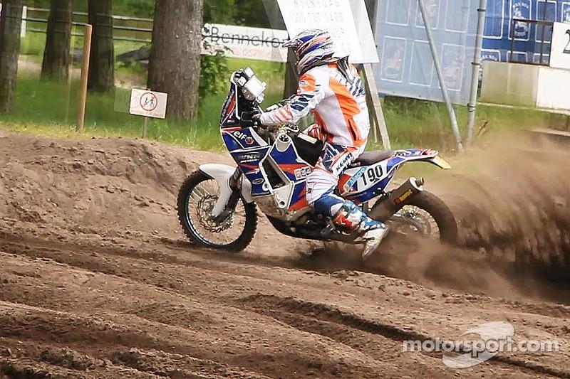 Rider Senn Van Basel suffers traumatic brain injury on opening day of Dakar