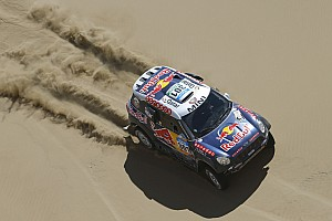 Dakar Stage report Six MINI ALL4 Racing cars finish in the top ten on stage eight