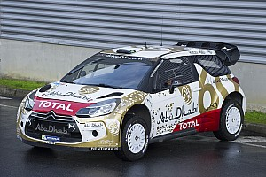 WRC Breaking news Citroën: New livery for the DS 3 WRC
