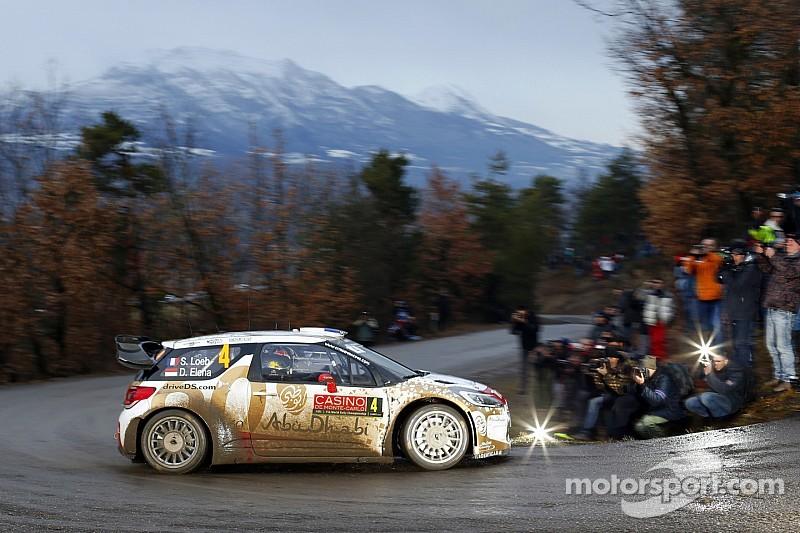 Loeb wastes no time at Monte Carlo