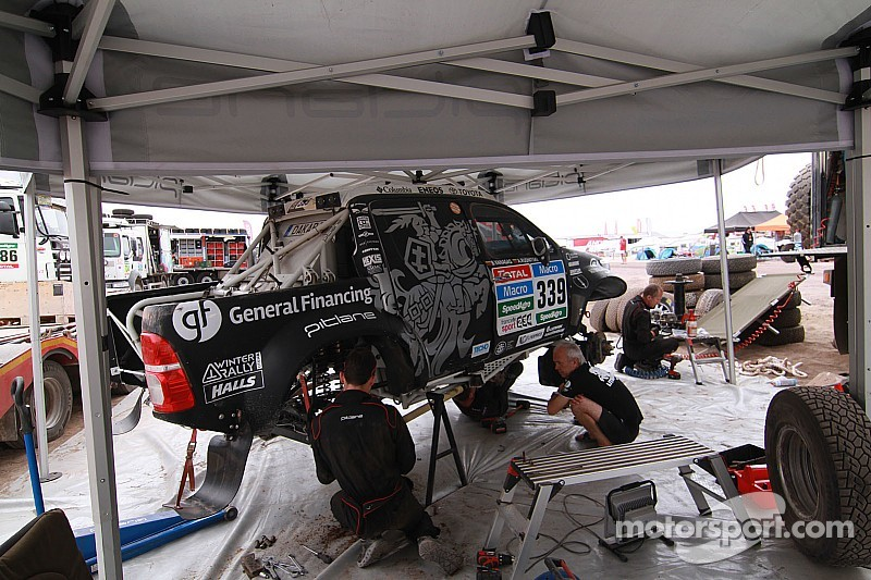 Robb's Dakar ride: the end of the line